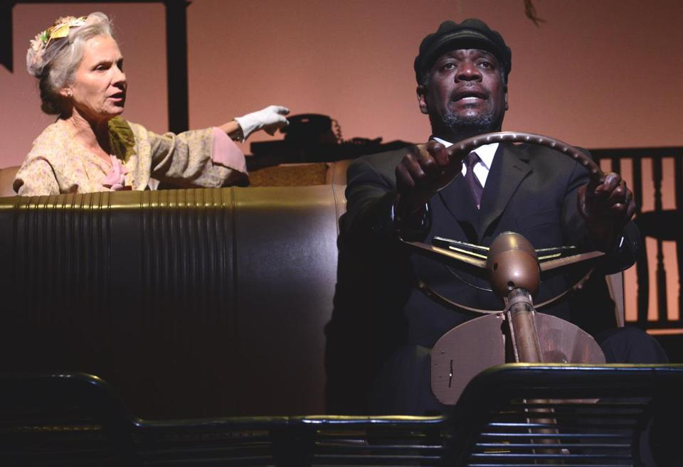 "Lindsay Crouse and Johnny Lee Davenport costar in the Gloucester Stage Company's ""Driving Miss Daisy."""
