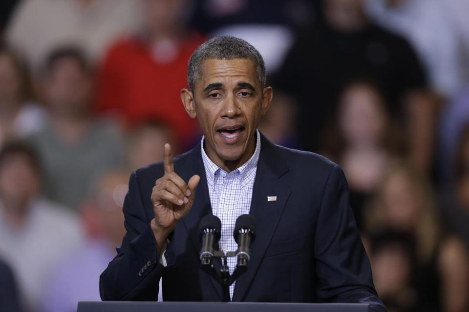 President Obama said he will go ahead with his speech on Tuesday, outlining the rationale for US military action.