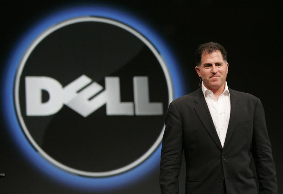 Michael Dell aims to take the company he found private. If shareholders approve, the company expects the deal to close later in its third quarter, which ends next month.