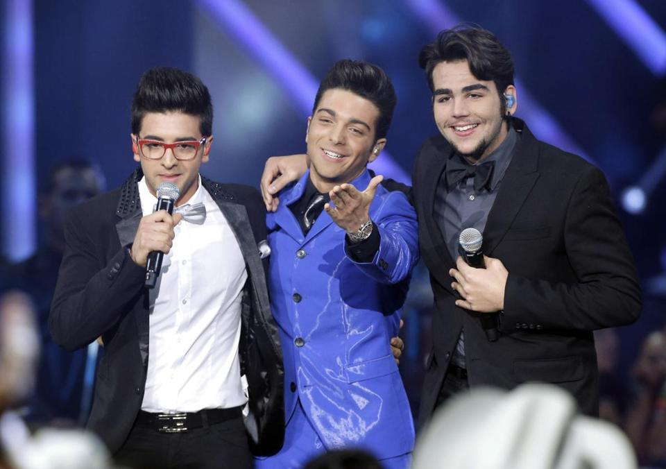 "Il Volo (Italian for ""flight"")"