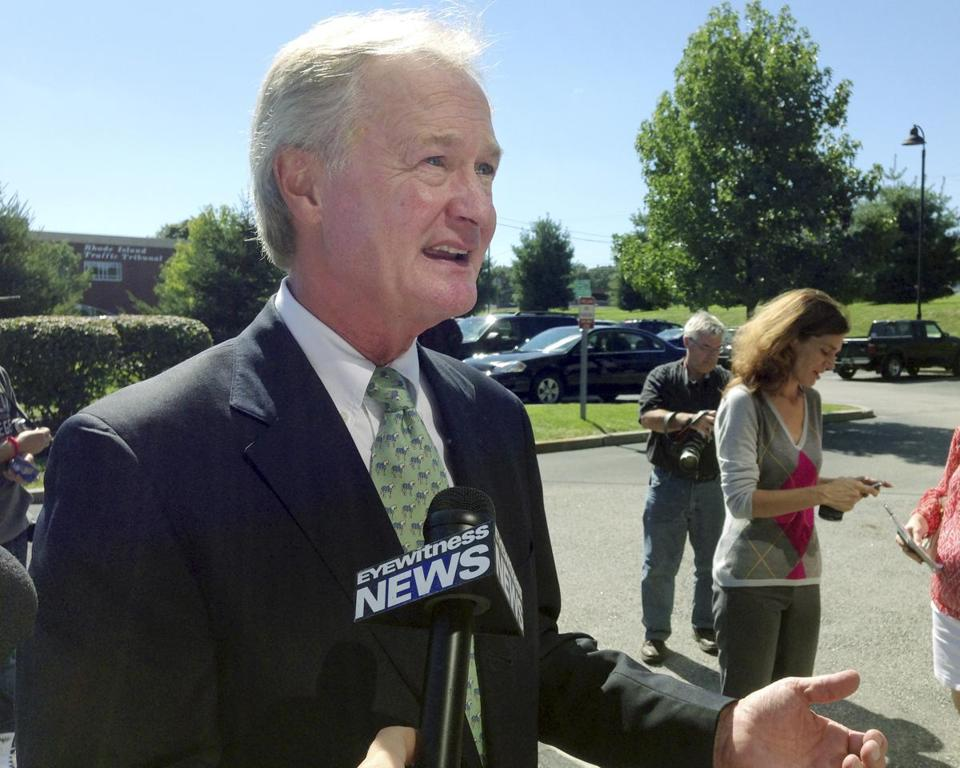 Governor Lincoln Chafee announced last week that he will not seek reelection. Sixteen months remain in his term.