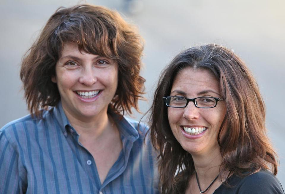 "Jill (left) and Faith Soloway. Jill's feature film directing debut, ""Afternoon Delight,"" was released last week."