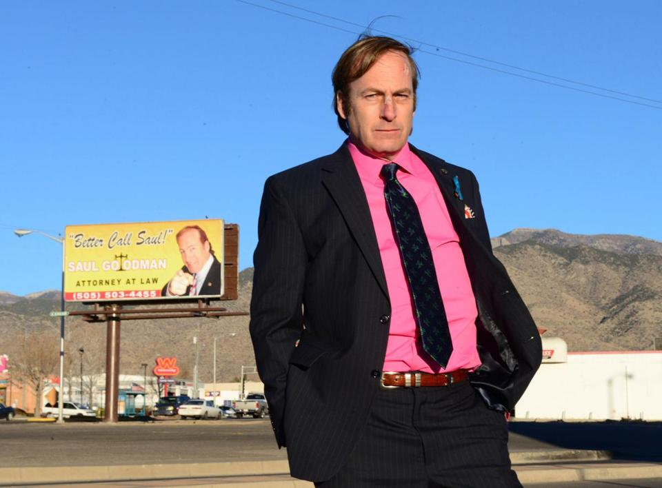 "Bob Odenkirk as Saul Goodman in ""Breaking Bad."""