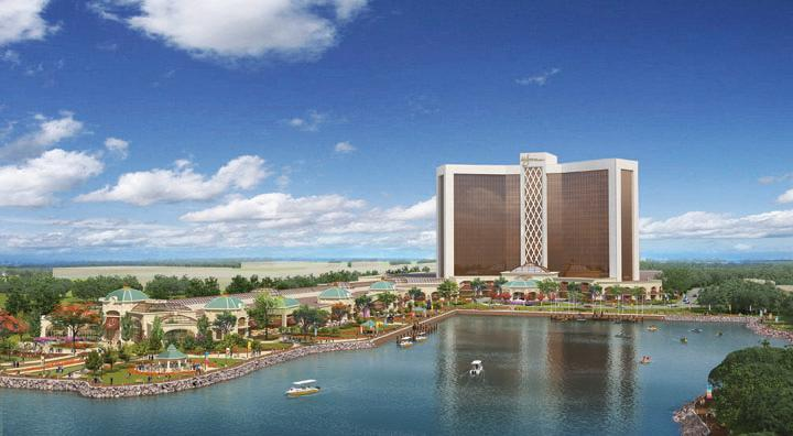 A rendering of the proposed Everett casino.