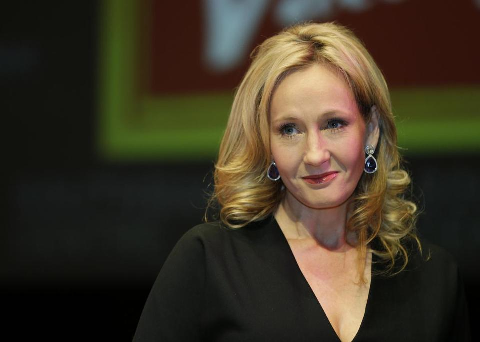 J.K. Rowling will write the screenplay for the film adaptation of her new book.