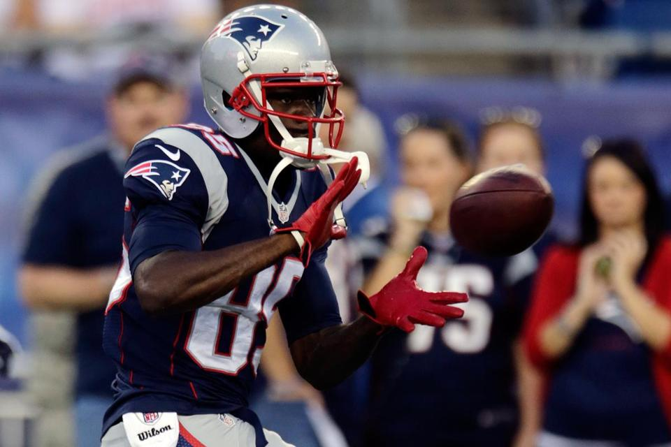 Though he went undrafted, Kenbrell Thompkins impressed the Patriots enough to make the team out of training camp.