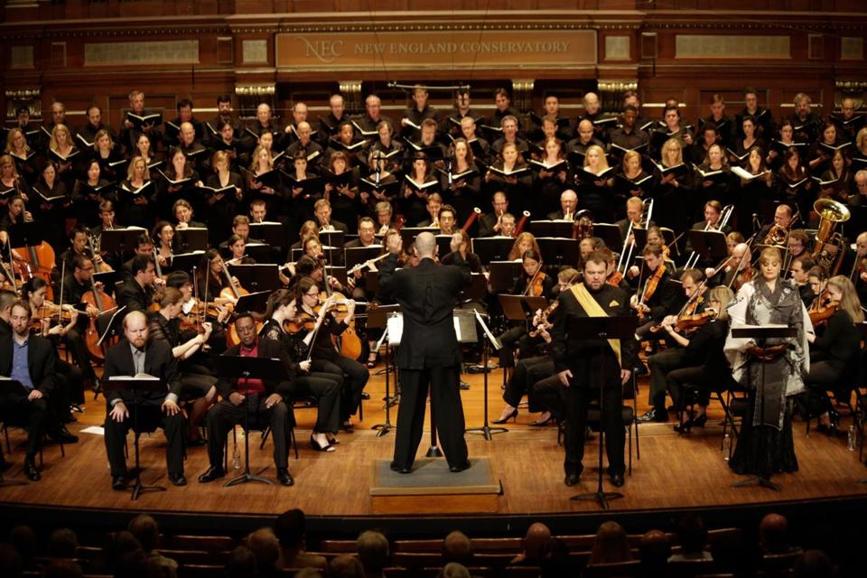 "With Gil Rose on the podium Sunday, Odyssey Opera performed a concert version of Wagner's ""Rienzi"" at Jordan Hall."