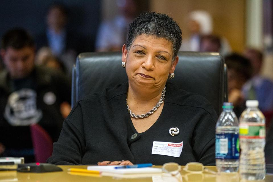 MBTA chief Beverly Scott said the T is open to exploring ideas for funding late-night service.