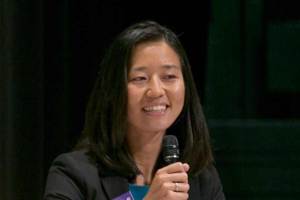 Michelle Wu is one of the candidates seeking to nab an at-large City Council seat.