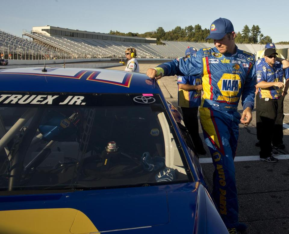 MWR driver Martin Truex Jr. won't be wearing the NAPA brand much longer with the company withdrawing its sponsorship.