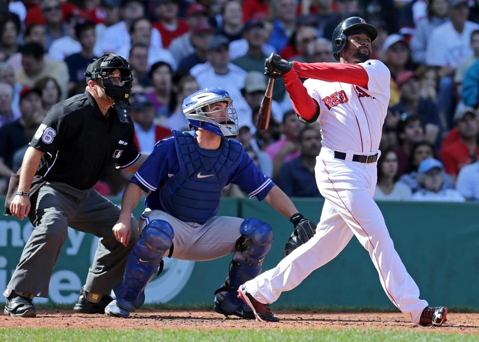 Despite his modest numbers as a rookie, the Red Sox still believe in Jackie Bradley Jr.