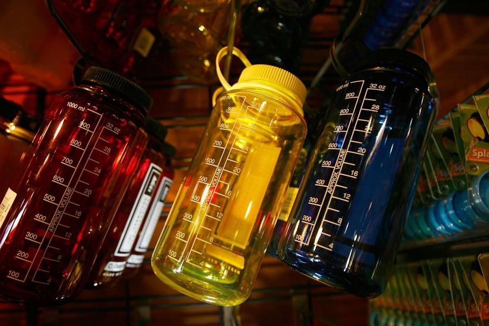 Most Americans have traces of BPA in their urine because the chemical has been widely used, including in hard-plastic bottles at one time.
