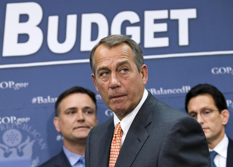House Speaker John A. Boehner signaled this week that he expects to appoint conferees to work out a compromise.