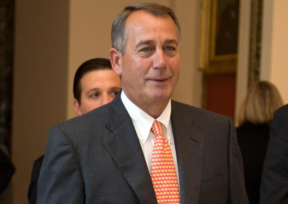 Speaker John Boehner insists any increase in borrowing be matched by cuts and other reforms to produce savings.