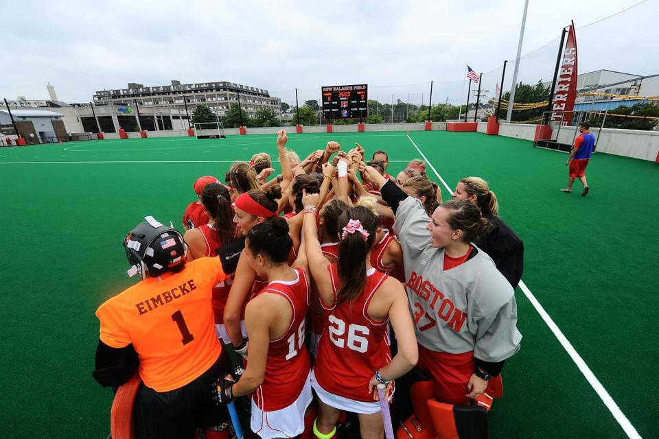 With new New Balance Field on campus, BU's field hockey players no longer have to travel all over town for practices and games.