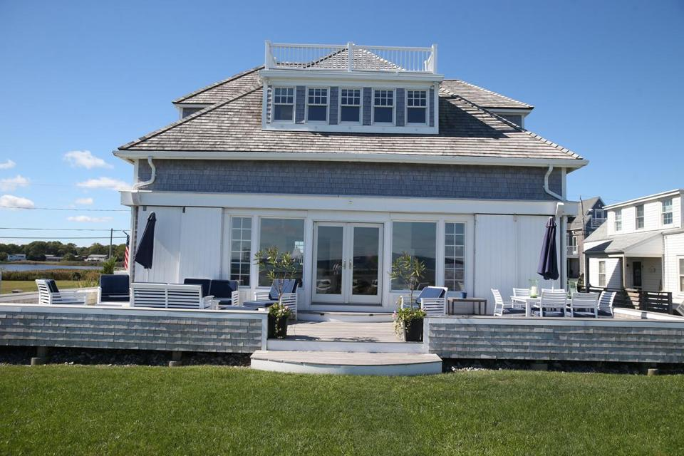 This home in Scituate was once a Life-Saving Service Station.