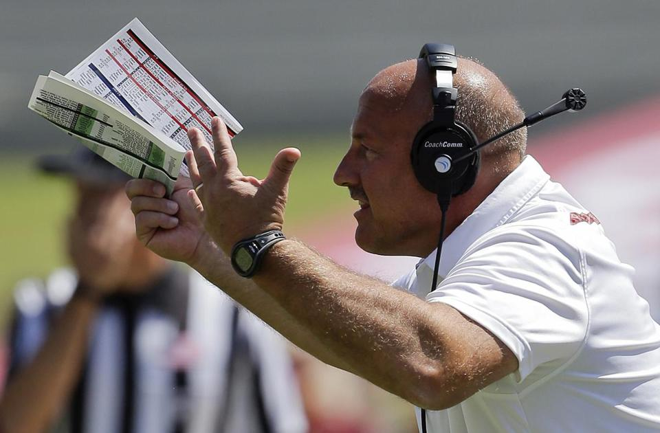 Coach Steve Addazio said his team cannot afford to hurt itself.
