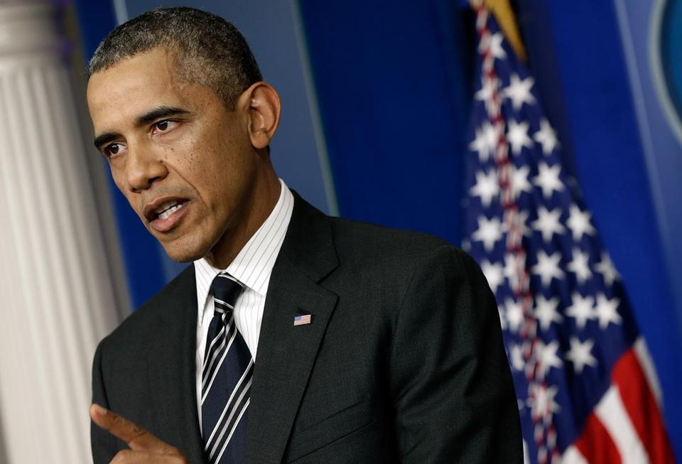 President Obama said a failure to increase the government's borrowing authority would effectively shutter the economy.
