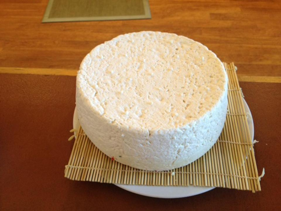 Cheese making at Mountain Goat Lodge, Colorado.