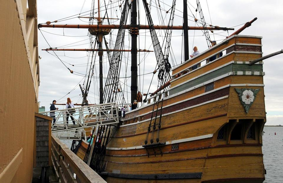The Mayflower ll is back at its dock in Plymouth after a months-long refurbishment, but it needs more  interior cleaning and repairs.