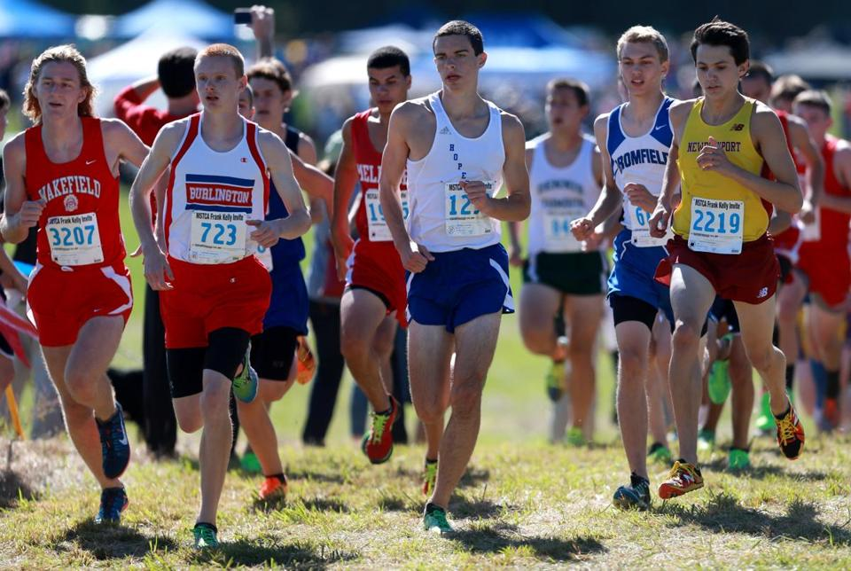 Division 2 winner Nick Carleo (2219) led Newburyport to second place behind Tewksbury.