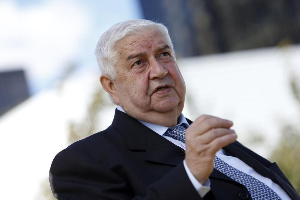 """Bashar Assad is the elected president until mid-2014, when presidential elections will be held,'' said Syrian Foreign Minister Walid al-Moallem."