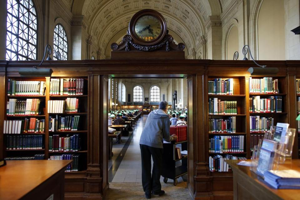 Boston Public Library had one complaint about a book in the past three years.