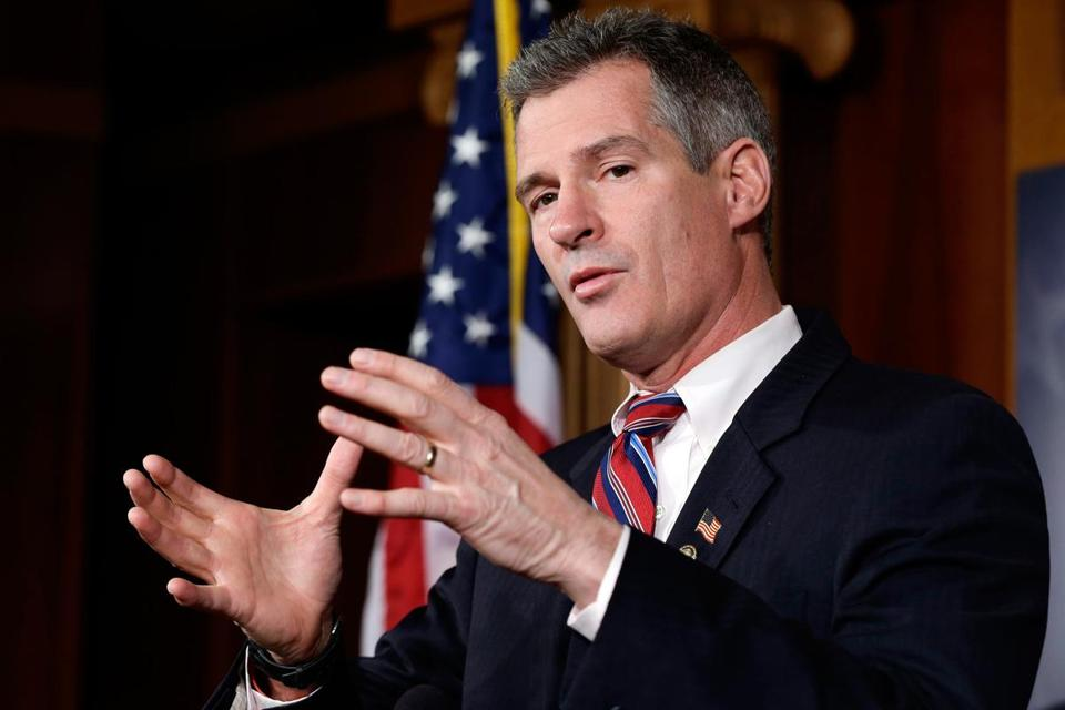 """I'm doing exactly what I said I was going to do . . . traveling around the country helping other committees, individuals, and groups raise money and raise awareness, and try to get my message of problem-solving,"" said Scott Brown."