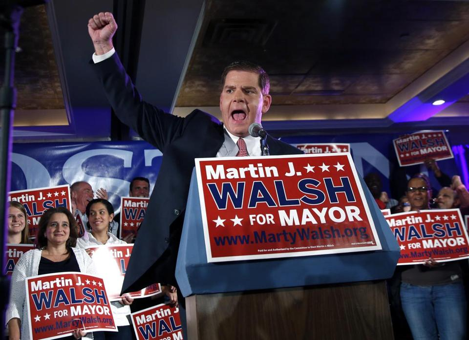 While the survey jibes with other recent polls in depicting Walsh with the momentum, none that has become public has given the Dorchester Democrat the lead, let alone a 47 percent to 40 percent advantage.