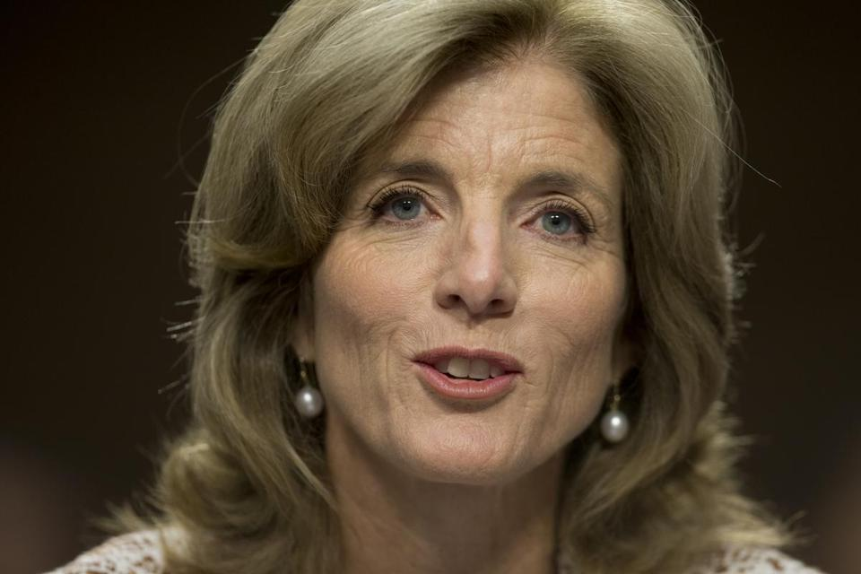 Caroline Kennedy spoke during the Senate Foreign Relations Committee hearing on her nomination.