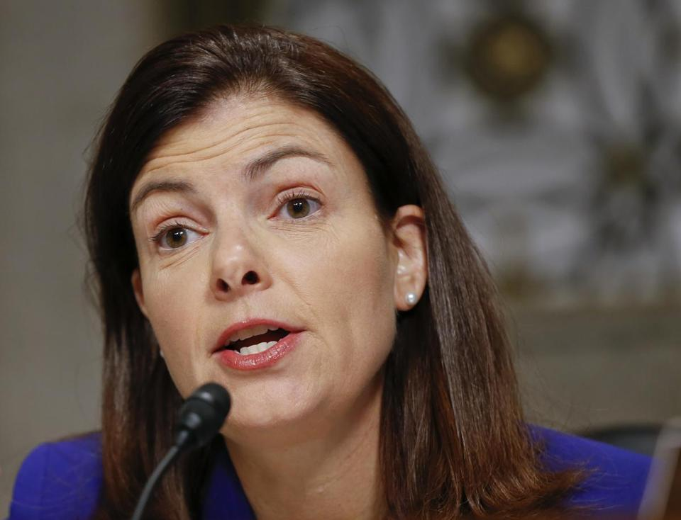 """It's time for a reality check,"" Senator Kelly Ayotte told her Republican colleagues."
