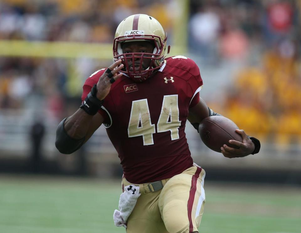 Andre Williams is 162 yards shy of 1,000 this season and hopes to hit the mark  vs. UNC.