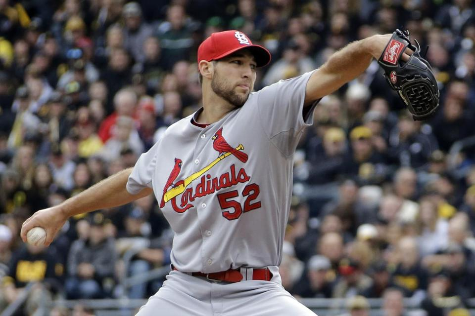 St. Louis rookie Michael Wacha did not allow a hit until a one-out homer by Pedro Alvarez in the eighth inning. AP Photo/Gene J. Puskar)