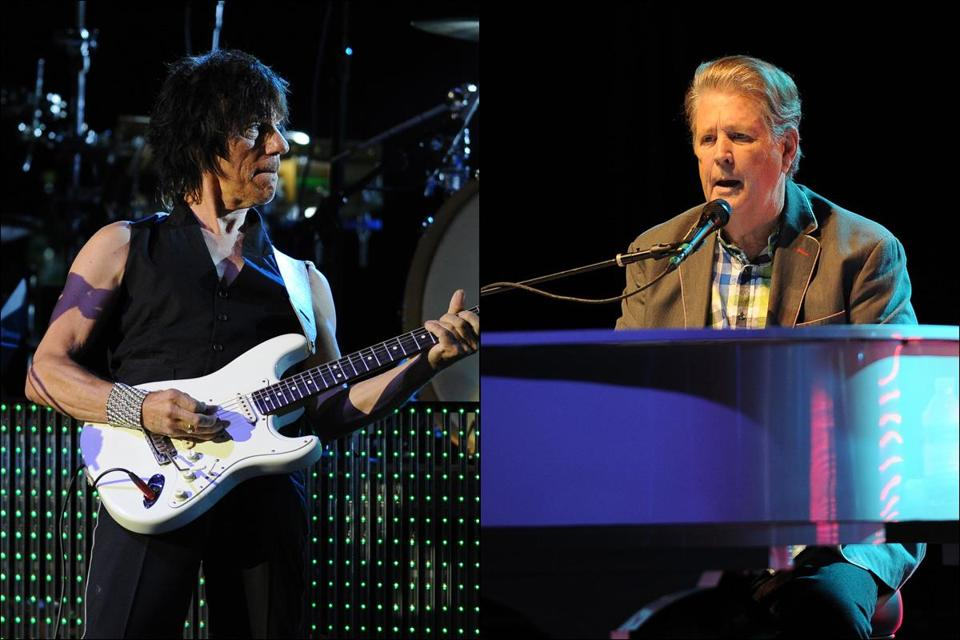 Jeff Beck and Brian Wilson.