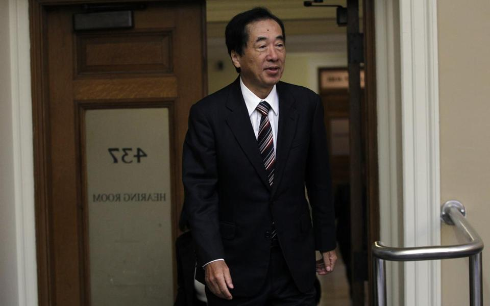 Naoto Kan cited the reactor in Plymouth.