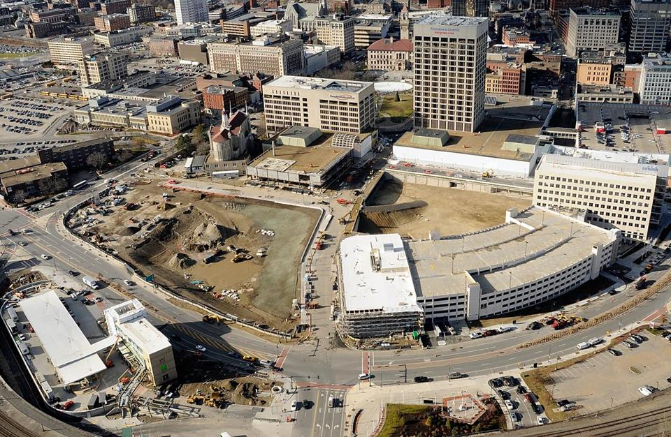 Worcester broke ground on the 20-acre, $565 milion CitySquare project in 2010.