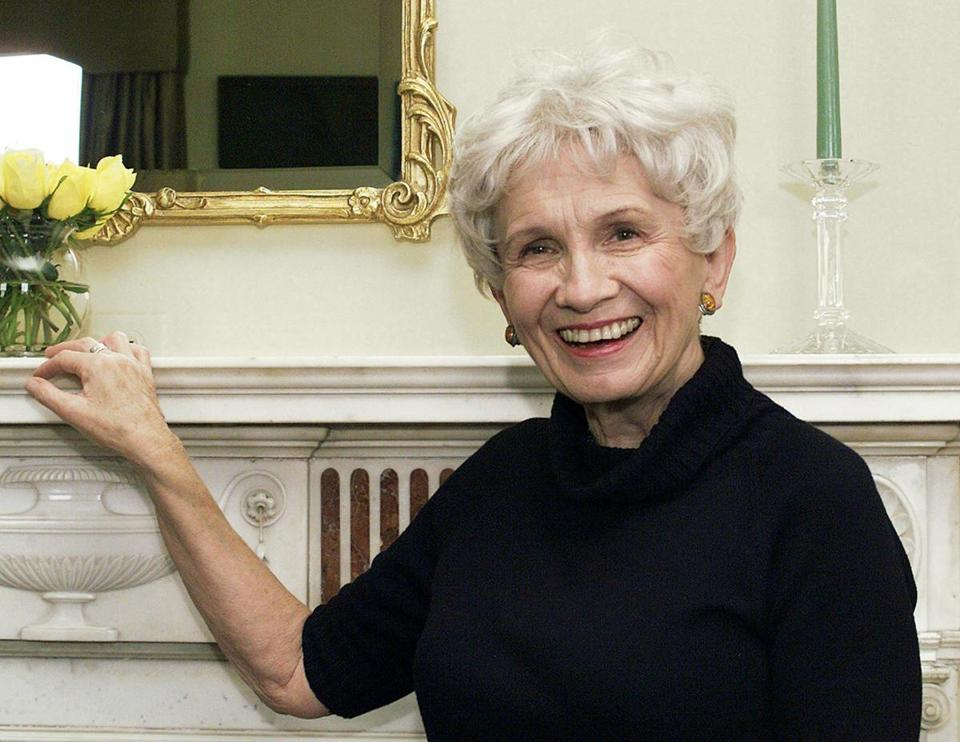 ALICE MUNRO: Bookstores weren't ready for the response