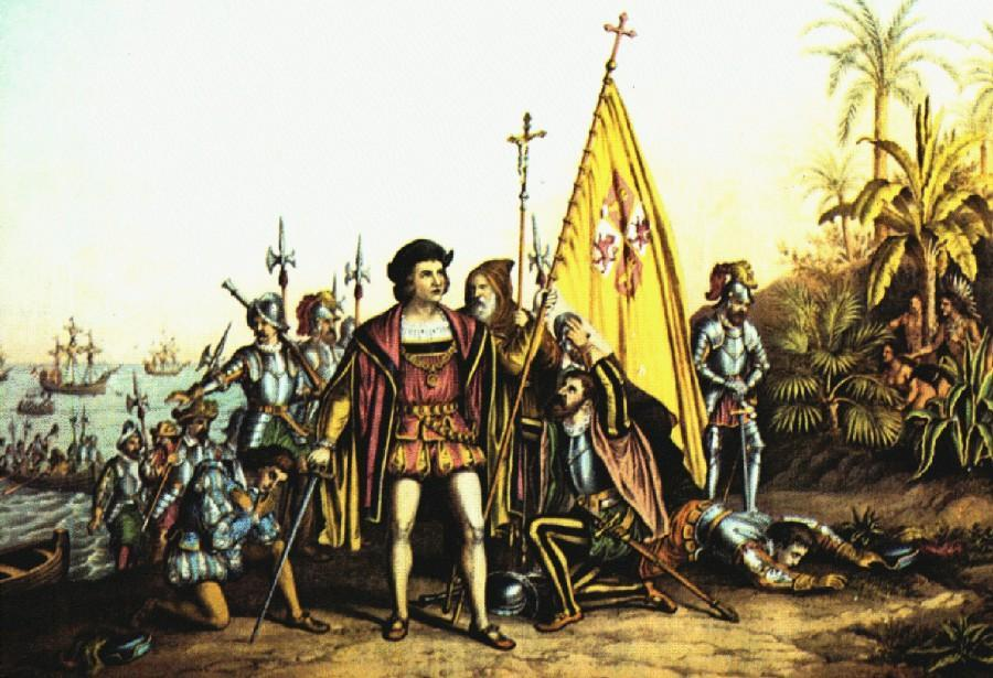 christopher columbus illustration Library Tag 10122002 Living/Arts Library Tag 02182003 Health / Science