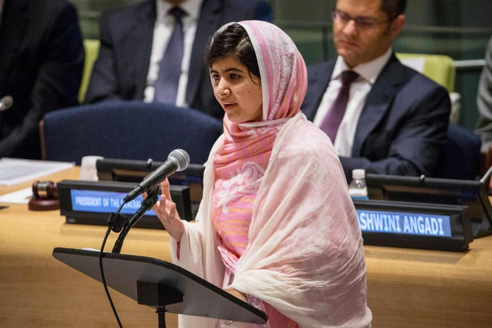 Malala Yousafzai, who spoke at the UN in July, is a contender for the Nobel Peace Prize.