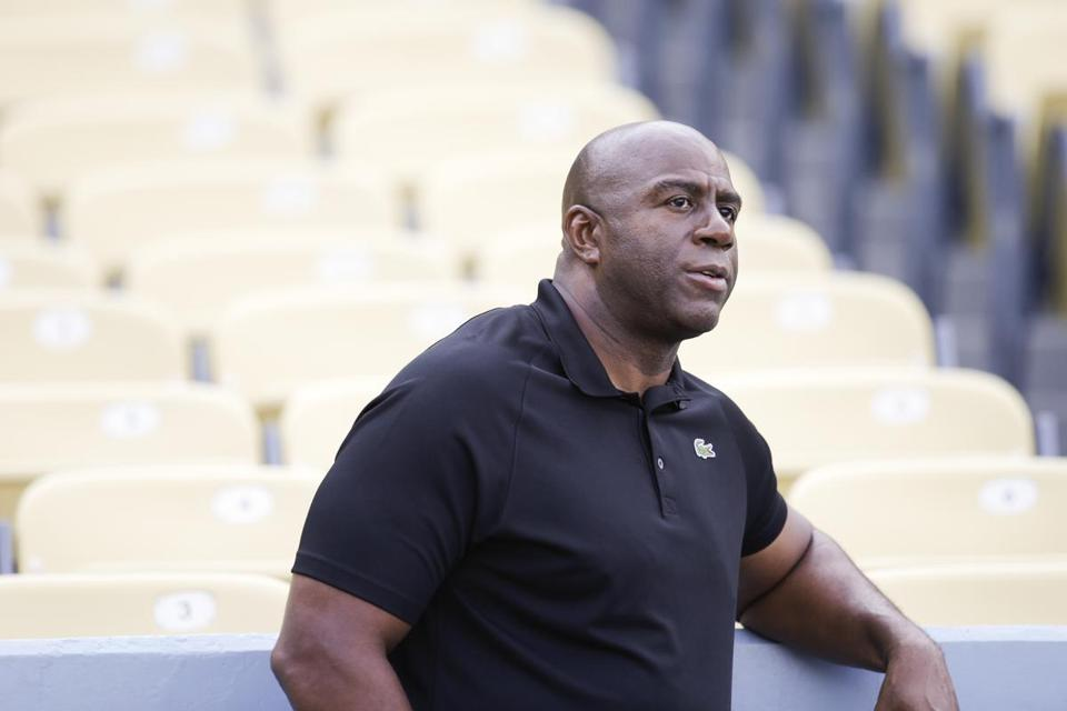 Magic Johnson's abundance of personality, part of his charm as a player, was mostly absent when his job was to discuss the sport.