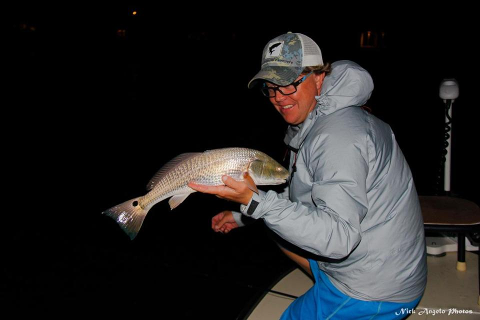 Prized game fish such as snook, redfish, and tarpon are primarily nocturnal feeders.