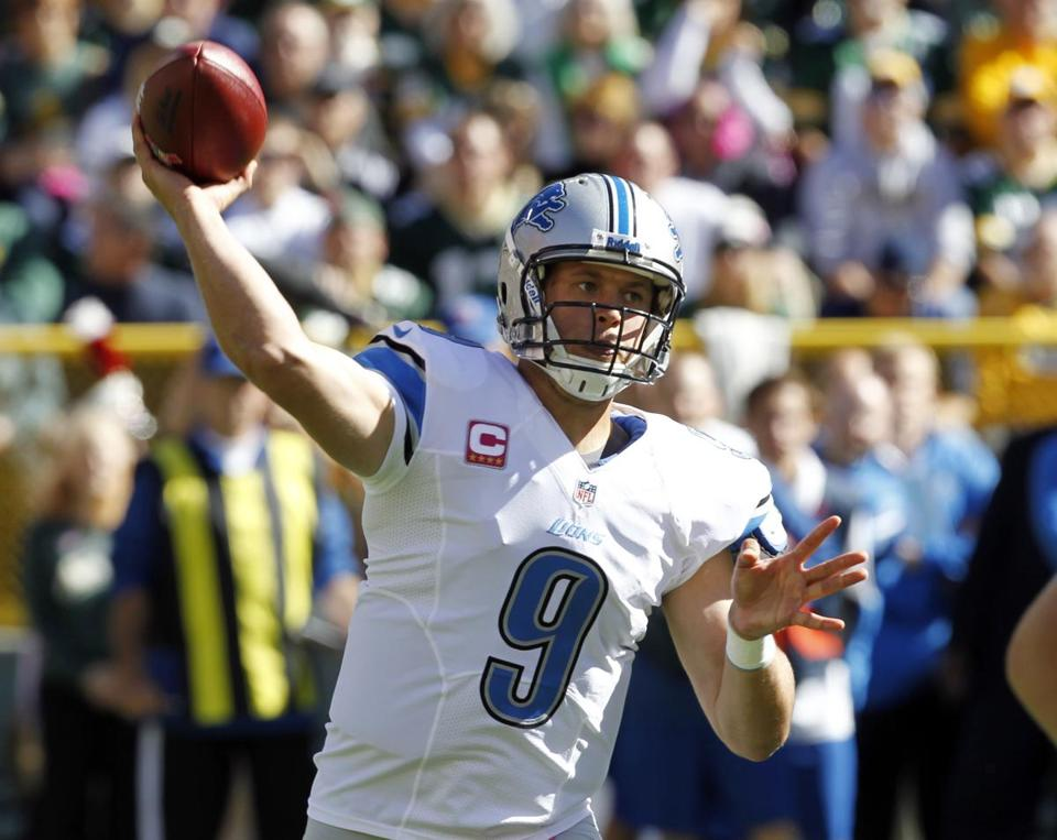 MATTHEW STAFFORD: Most yardage by a QB after 50 games