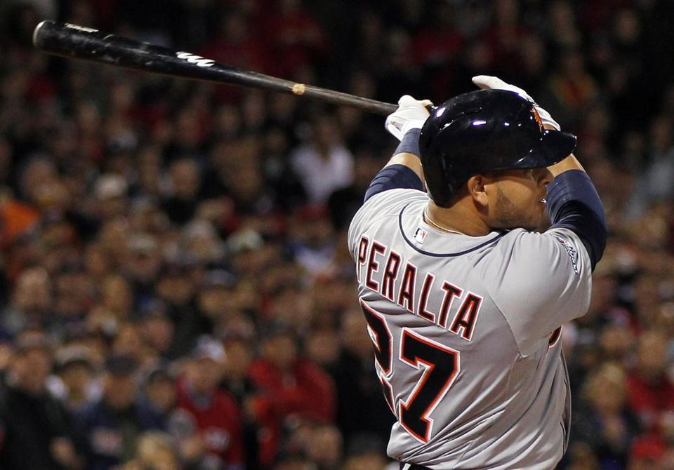 Jhonny Peralta smacked an RBI single during the sixth inning, accounting for the game's only run.