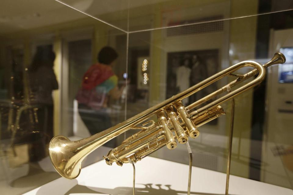 England's King George V gave Louis Armstrong this Selmer trumpet in 1933.