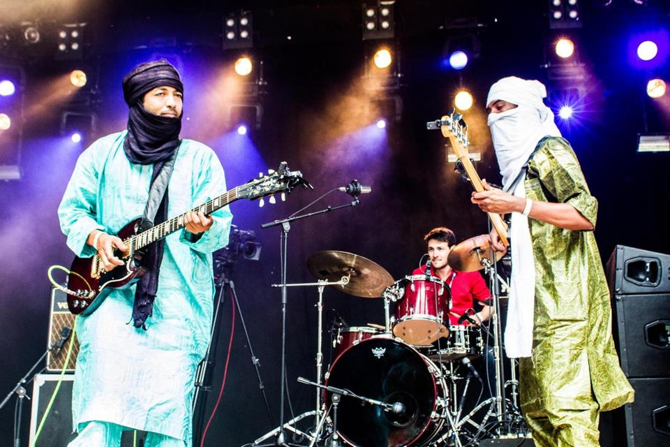 "Terakaft's musical and family roots are from Mali. ""We are looking for peace for our people,"" says guitarist Liya Ag Ablil."