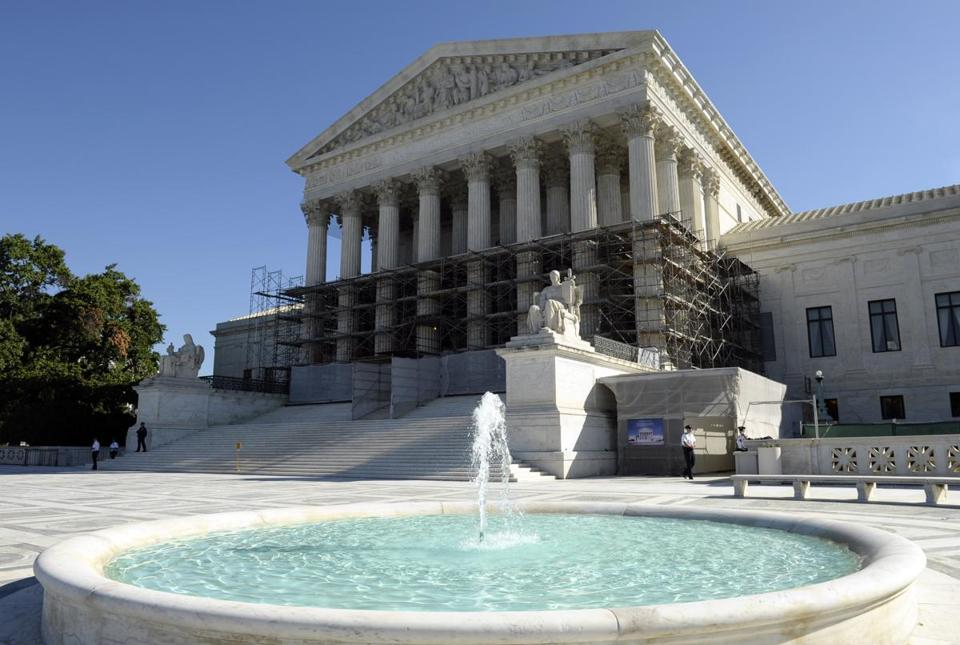 The Supreme Court in Washington, D.C.