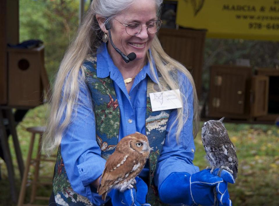 Marcia Wilson of Eyes on Owls will be back this year with her avian friends.