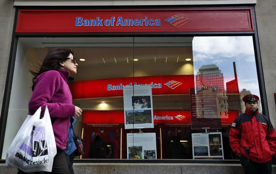 Bank of America cut 24,651 full-time jobs in the third quarter.