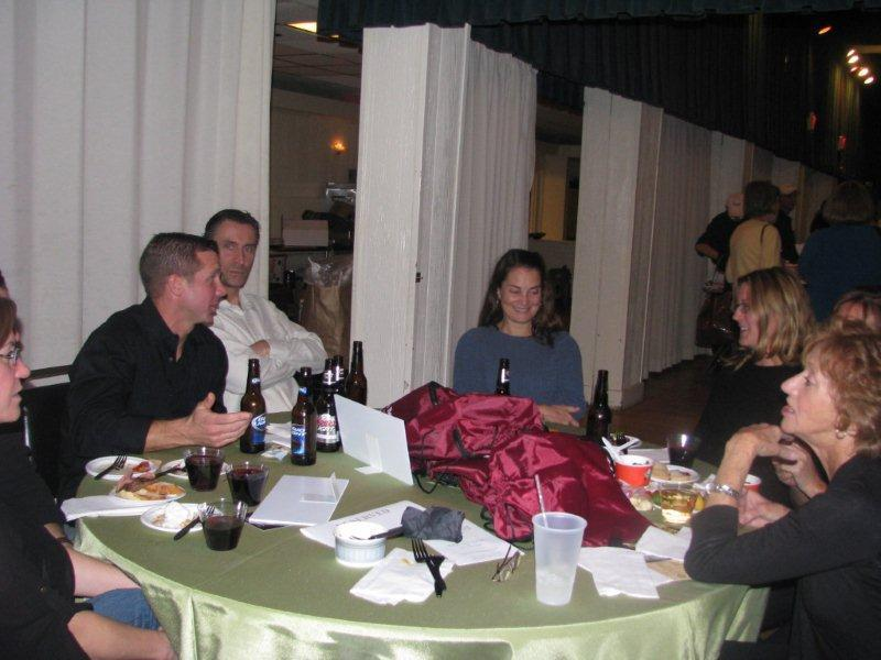 Guests enjoy meals  at a previous Taste Dedham event.