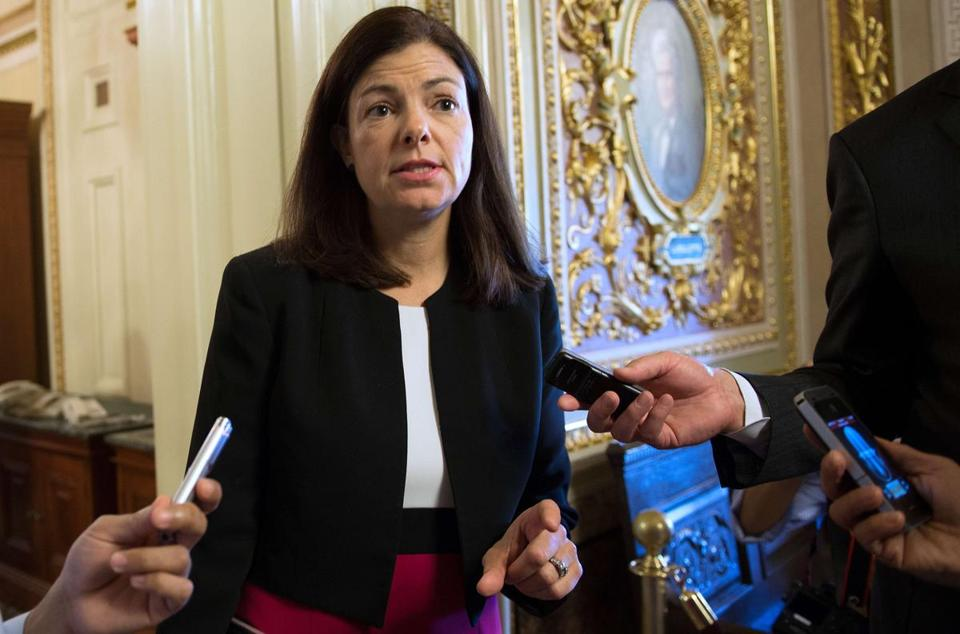 Senator Kelly Ayotte, a New Hampshire Republican, went to great lengths to distance herself from the Tea Party movement's strategy ahead of the government shutdown.